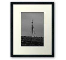 Its loney out here Framed Print