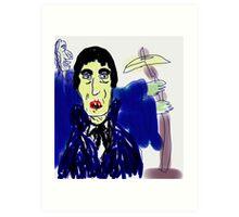 Vampire Weakened Art Print
