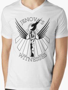 Jenova's Witnesses Mens V-Neck T-Shirt