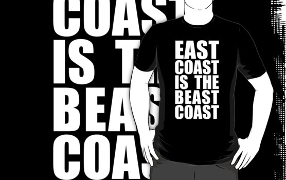 EAST COAST IS THE BEAST COAST by nadievastore
