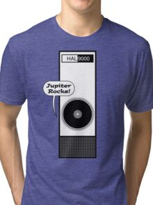 Jupiter Rocks! (B&W Print) Tri-blend T-Shirt