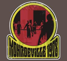Monroeville, 1978 (White Background) by GritFX