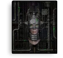 The Queen in the Machine Canvas Print