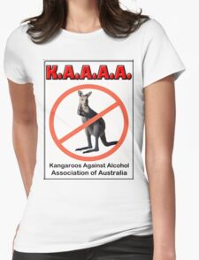 THE K.A.A.A.A. Womens Fitted T-Shirt