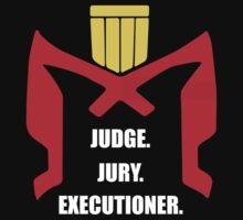 Judge.Jury.Executioner. by oneshortbuzard