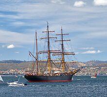 James Craig, Hobart, Tasmania #2 by Chris Cobern
