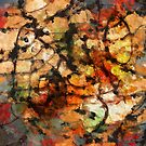 Paths We Travel #9 Abstract Art by Anthony Ross