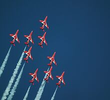 Reds Over The Top by mike  jordan.