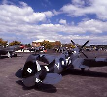 Eight Merlins @ Tyabb Airshow, Victoria, Australia 2004 by muz2142