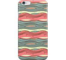 Pink Blue Yellow Green iPhone Case/Skin