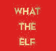 What the Elf Women's Fitted V-Neck T-Shirt