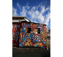 Back alley graf Photographic Print