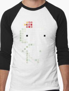 Fez Tiles Men's Baseball ¾ T-Shirt