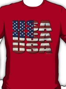 USA USA USA 4th July T-Shirt