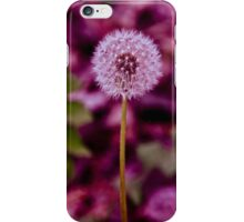 Red Dandelion iPhone Case/Skin