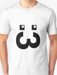 Cute Face :3 (big mouth) T-Shirt