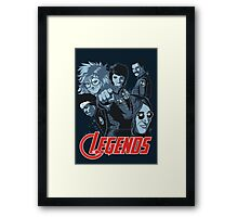 THE LEGENDS Framed Print