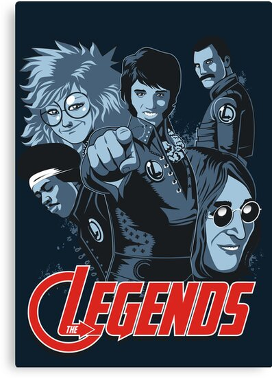 THE LEGENDS by Adams Pinto