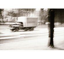 Drive me friendly Photographic Print
