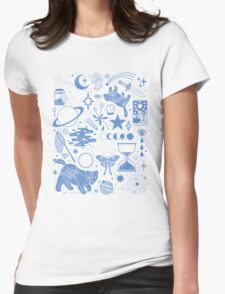 Collecting the Stars Womens Fitted T-Shirt