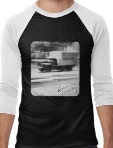 Drive me friendly 2 (for dark clothes) Men's Baseball ¾ T-Shirt