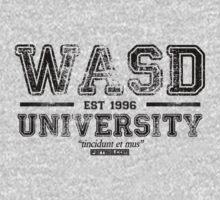 WASD University Black by Fernsie