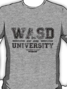WASD University Black T-Shirt