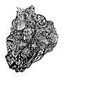 Abstract Art #3: Stone Heart by TJBrelsford