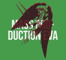 Duotone Overprint series: Mass Production Eva Unit Kids Clothes