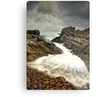 Incoming Wave Metal Print