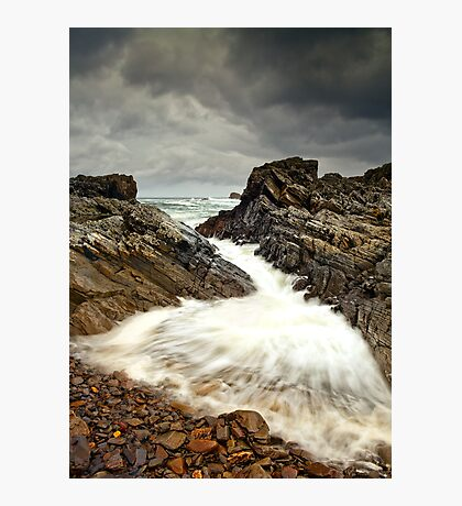 Incoming Wave Photographic Print