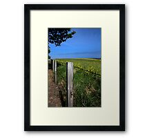 Behind Metal Framed Print