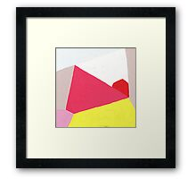 Abstract Angles Framed Print