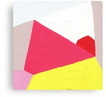 Abstract Angles Canvas Print
