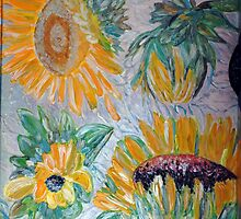 Sunflower Cycle of Life2 by vtarcau