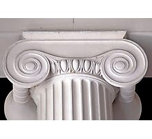 ionic architectural column Photographic Print