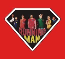 RunningMan Superpowers Superman by Ebeelily