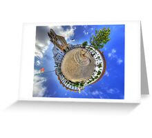 Faro Panorama Planet Greeting Card