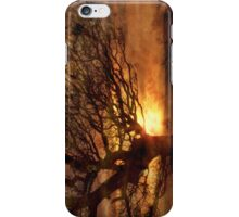 Sunset Over Beamish iPhone Case/Skin