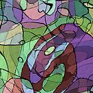 Paths We Travel #10 Abstract Art by Anthony Ross