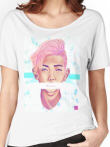 Kim Nam Joon - Pastel Women's Relaxed Fit T-Shirt