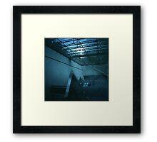 Escalator to Nowhere - Lomo Framed Print
