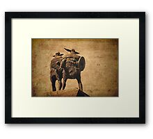 Vikings Of Jarrow Framed Print