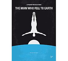 No208 My The Man Who Fell to Earth minimal movie poster Photographic Print