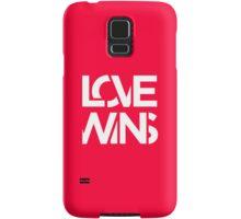 Love Wins Samsung Galaxy Case/Skin
