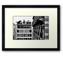 New and Old:  Paris 2013 Framed Print