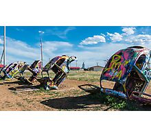 Bug Ranch on Route 66, Panhandle, TX Photographic Print