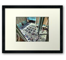 Lunch Time Framed Print