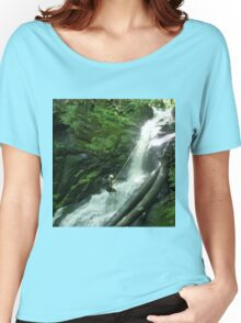 Waterfall Rappel  Women's Relaxed Fit T-Shirt