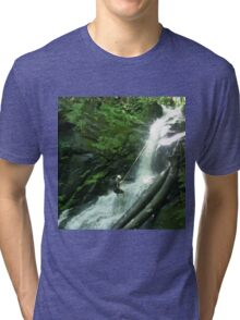 Waterfall Rappel  Tri-blend T-Shirt